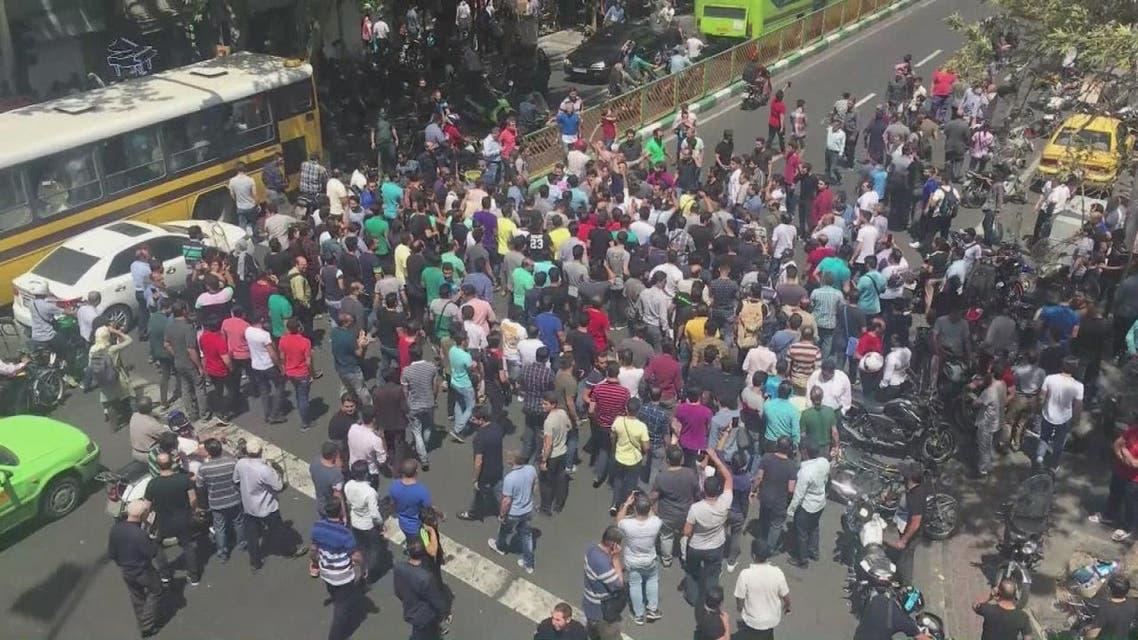 استمرار التظاهرات في إيران..