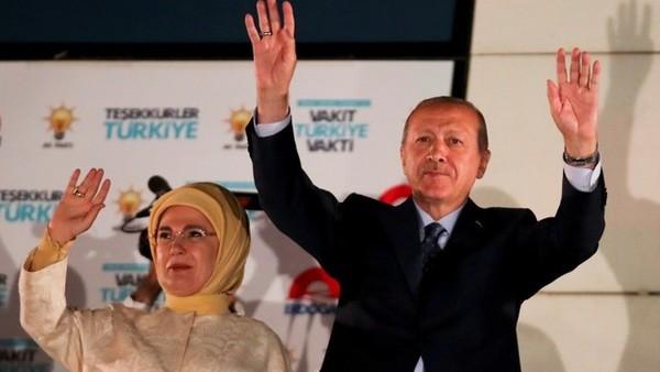 أردوغان يعلن الفوز برئاسة تركيا.. والمعارضة تشكك