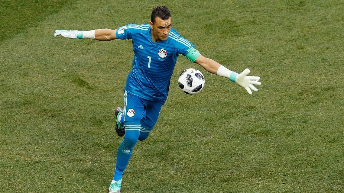 Egypt's Essam El-Hadary in action. (Reuters)