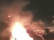 فيديو مأساوي لمصري يشهد احتراق أطفاله وزوجته أمام عينيه