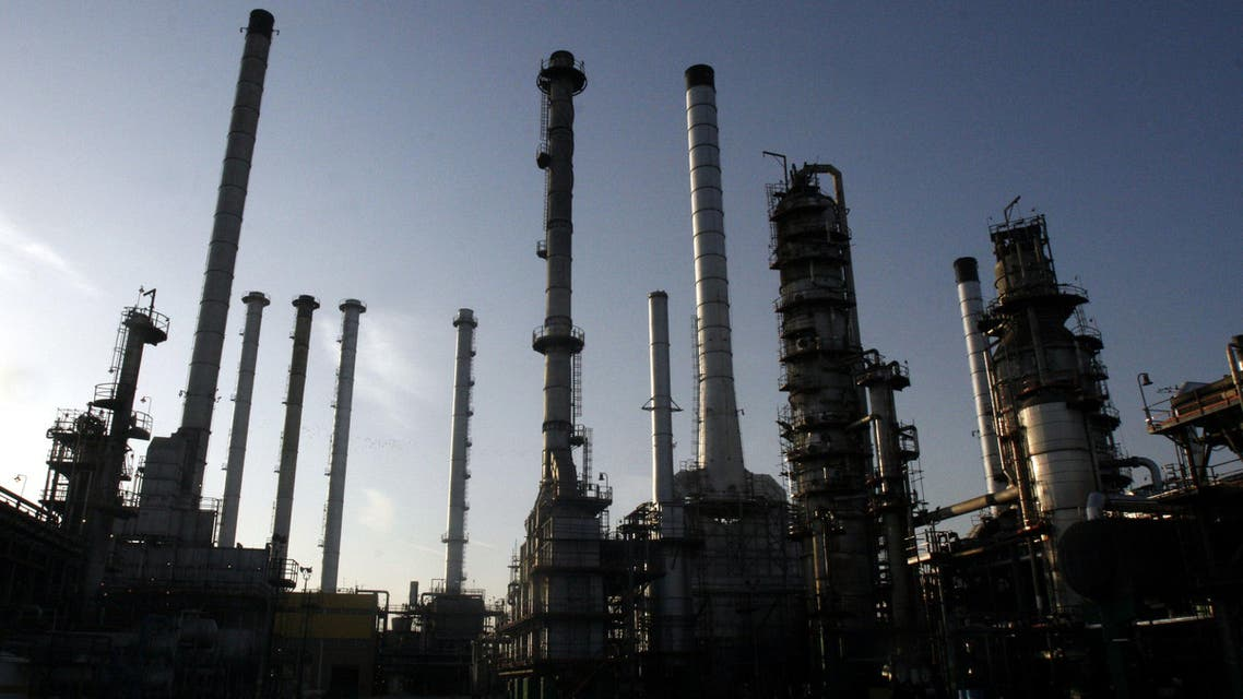 This Nov. 17, 2007, file photo, shows a portion of the Tehran oil refinery, in Tehran, Iran. (AP)