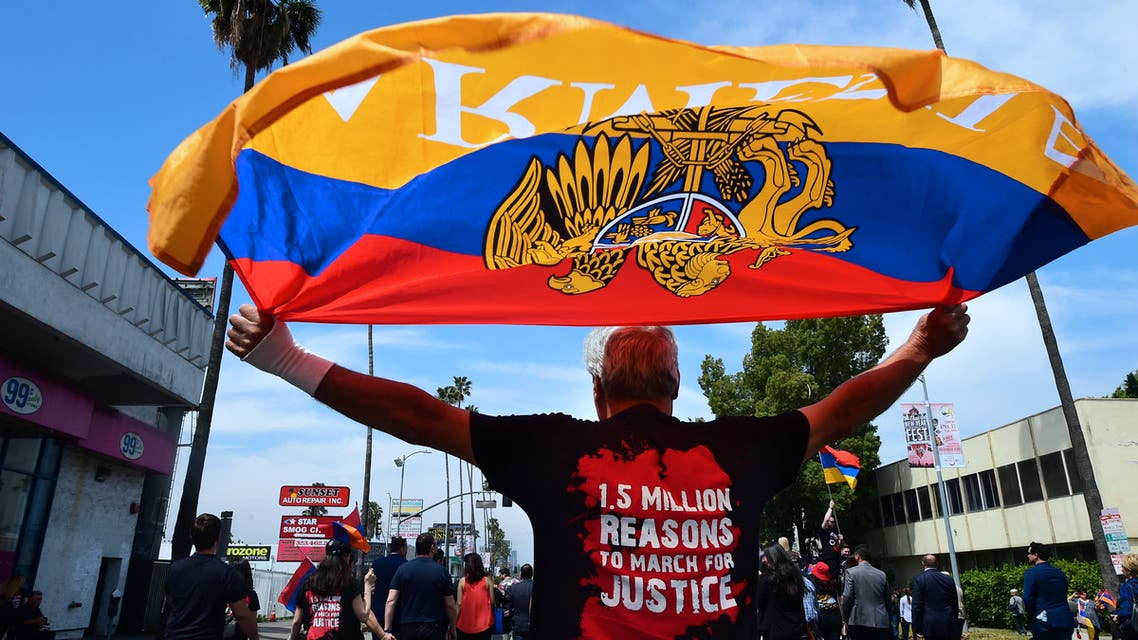The Armenians say up to 1.5 million of their people were massacred during World War I. (AFP)