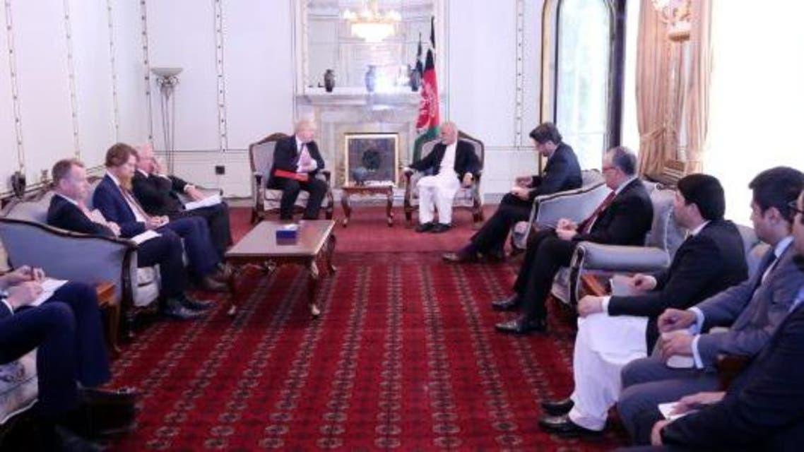 وزیر خارجه بریتانیا در کابل: ما در کنار مردم افغانستان هستیم