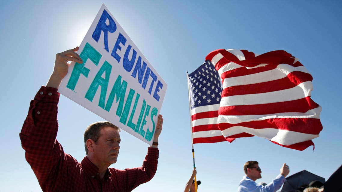 Trump formally ended the policy of separating families last Wednesday. (AP)
