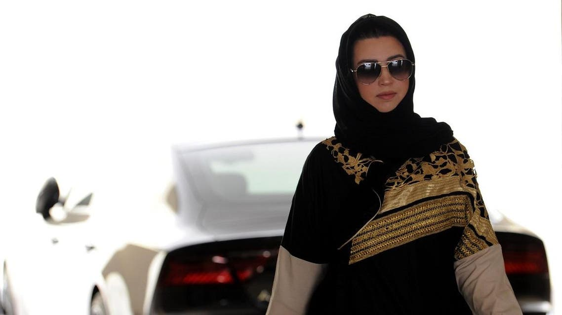 Daniah al-Ghalbi, a newly-licensed Saudi woman driver, walks away from her car in a garage in the coastal Red Sea city of Jeddah on June 23, 2018,