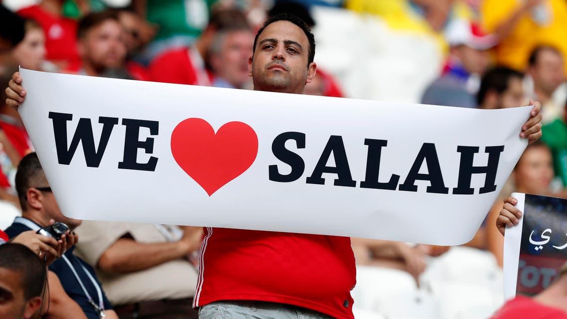 Salah fans. (AP)