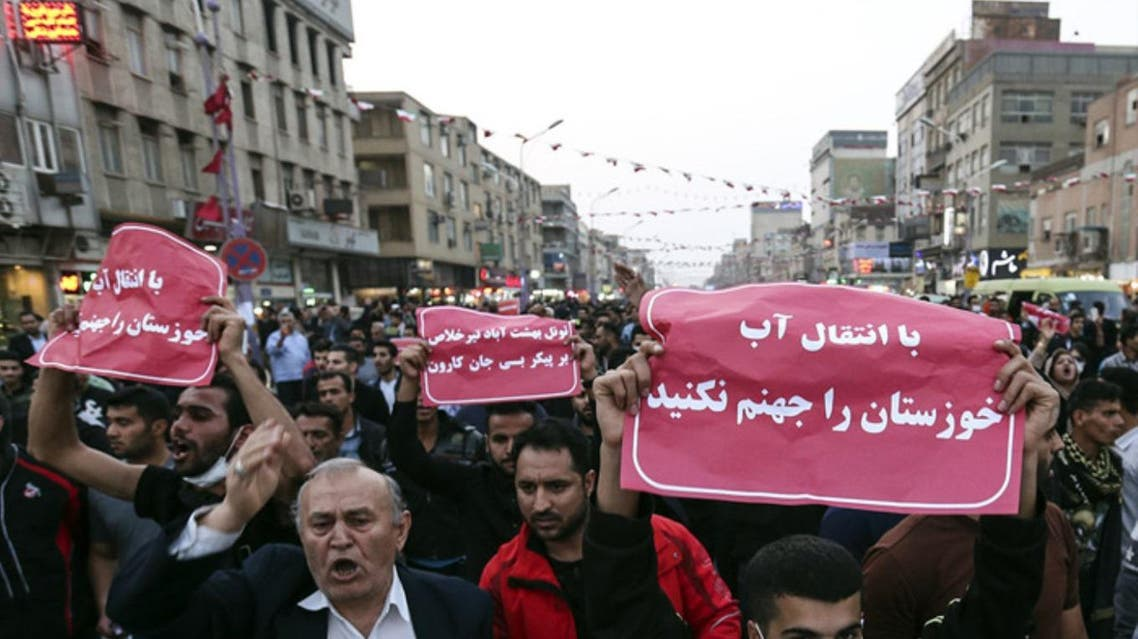 Protests demanding water supplies have become a regular feature in Iran. (Supplied)