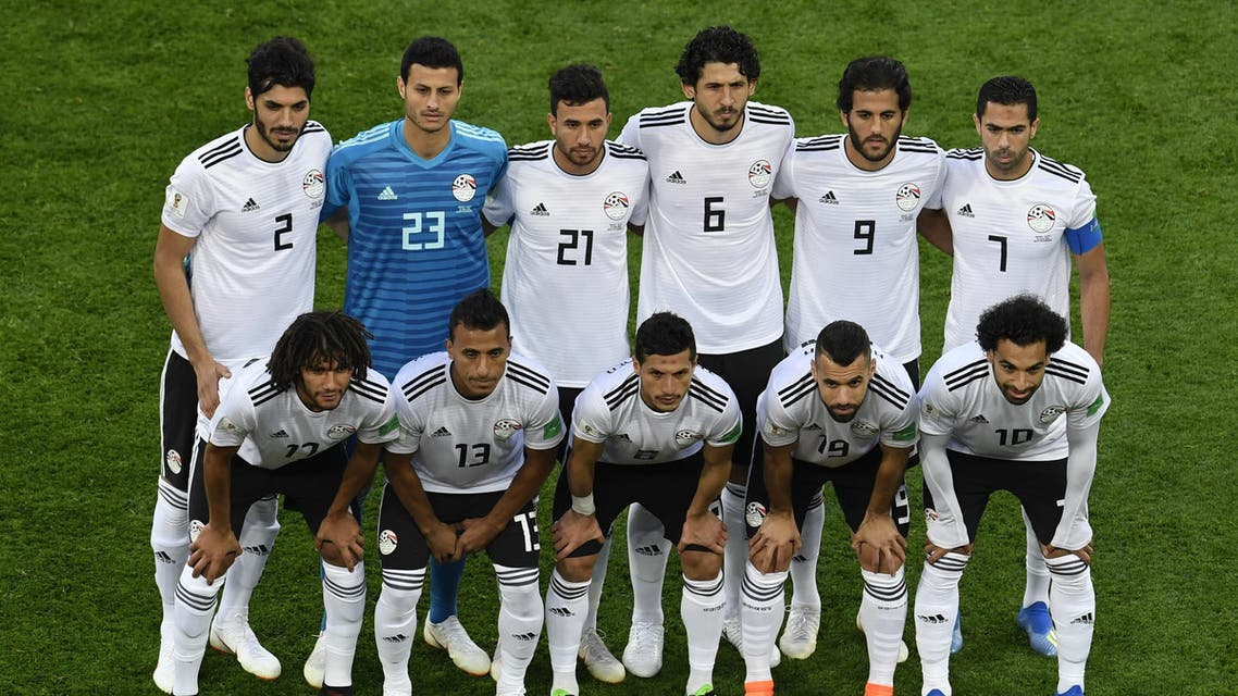 Egypt football team picture. (AFP)