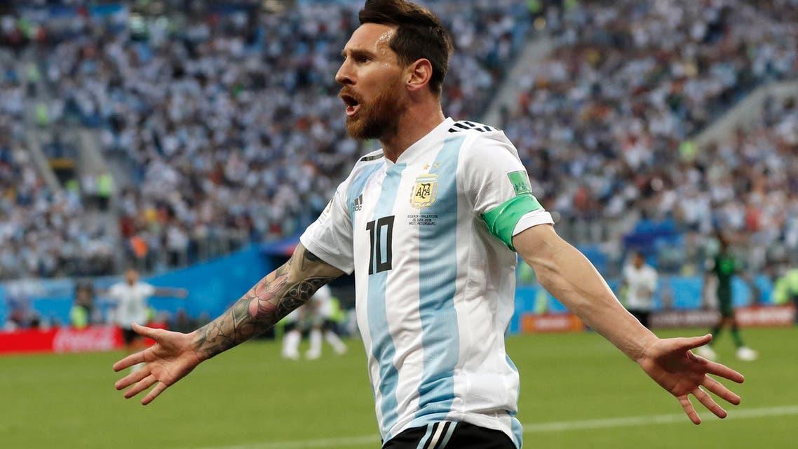 Argentina Messi. (AP)