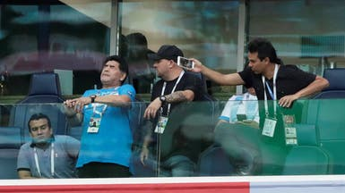 الأسطورة مارادونا: خاطرت بصحتي لأدعم الأرجنتين