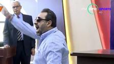 فيديو.. مجدي عبد الغني يصرخ في الصحافيين: أنا مش حرامي