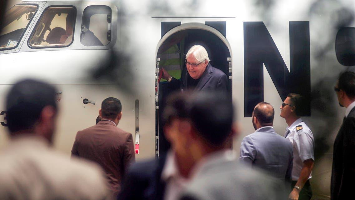 مبعوث الأممي إلى اليمن مارتن غريفيث يصل صنعاء