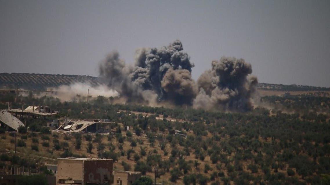 روسيا والنظام الروسي يطلقان رصاصة الرحمة على درعا