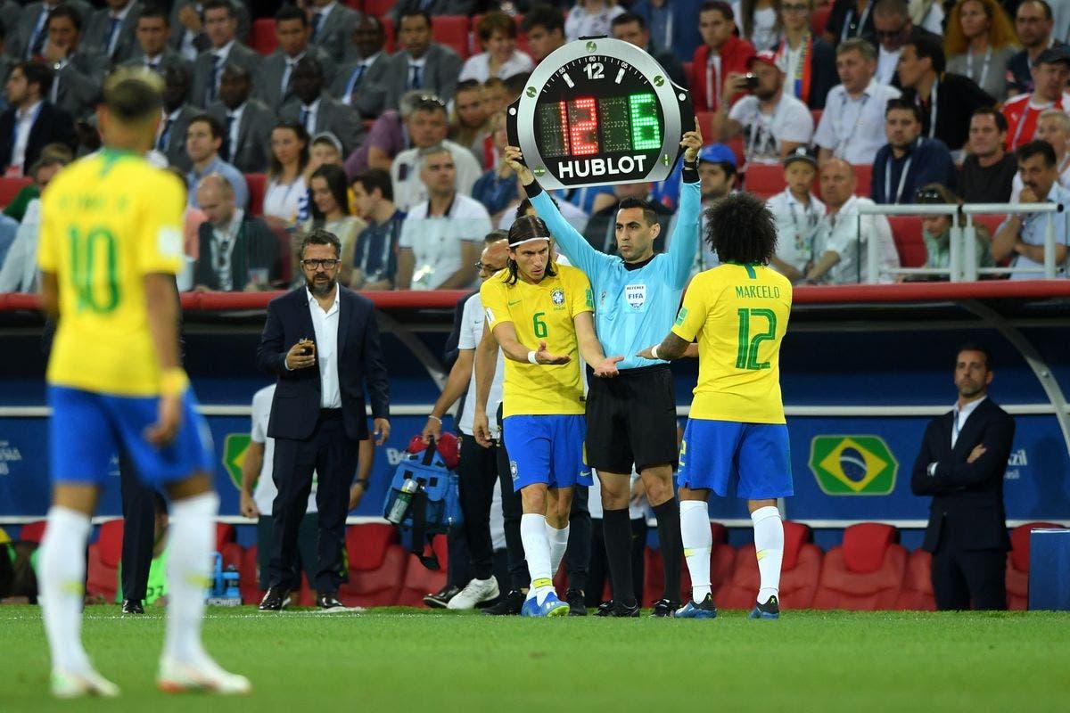 لحظة جخول لويس بديلا لظهير ريال مدريد