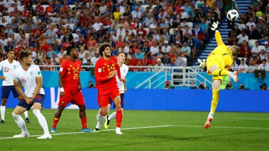 بلجيكا تهزم إنجلترا وتورطها أمام كولومبيا