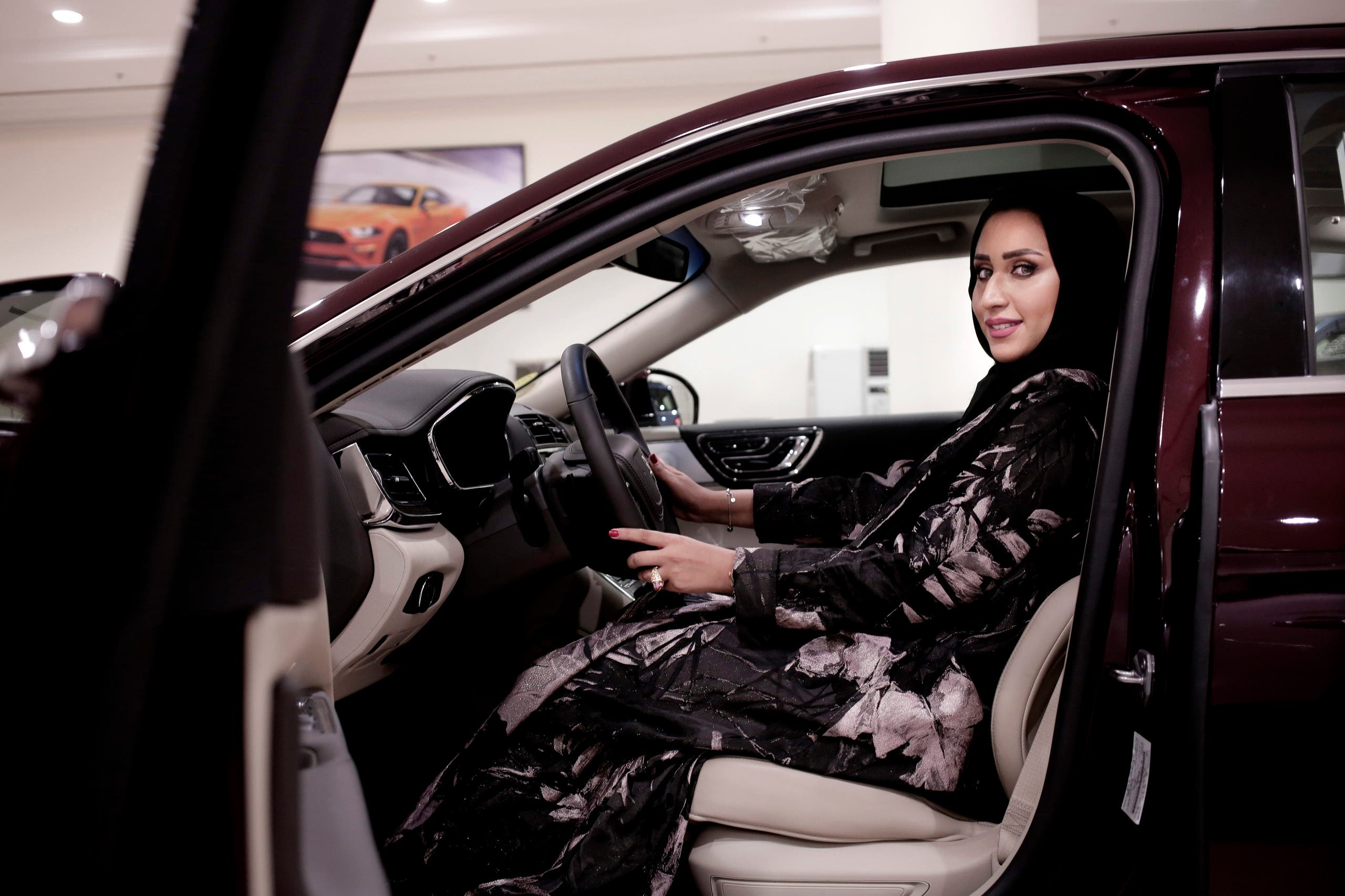 SAUDI CAR SHOWROOM (ap)