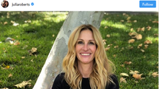 Pretty Woman Julia Roberts gets social and joins Instagram