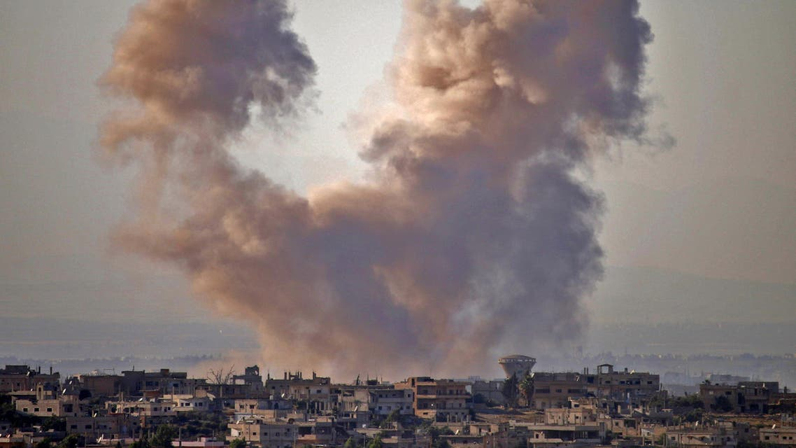 SOUTH SYRIA SHELLINGS (AFP)