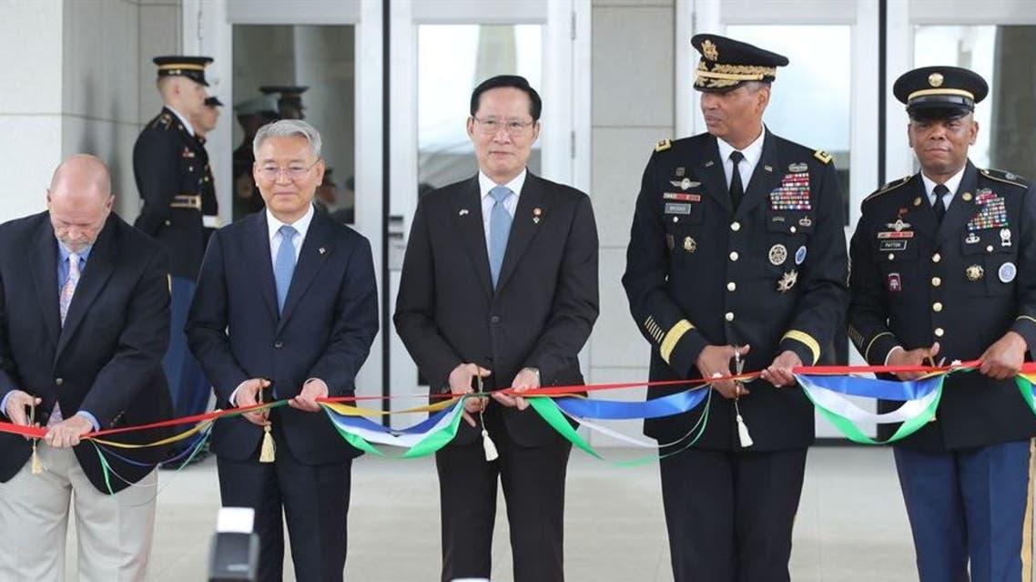 افتتاح مقر القوات الأميركية في كوريا الجنوبية