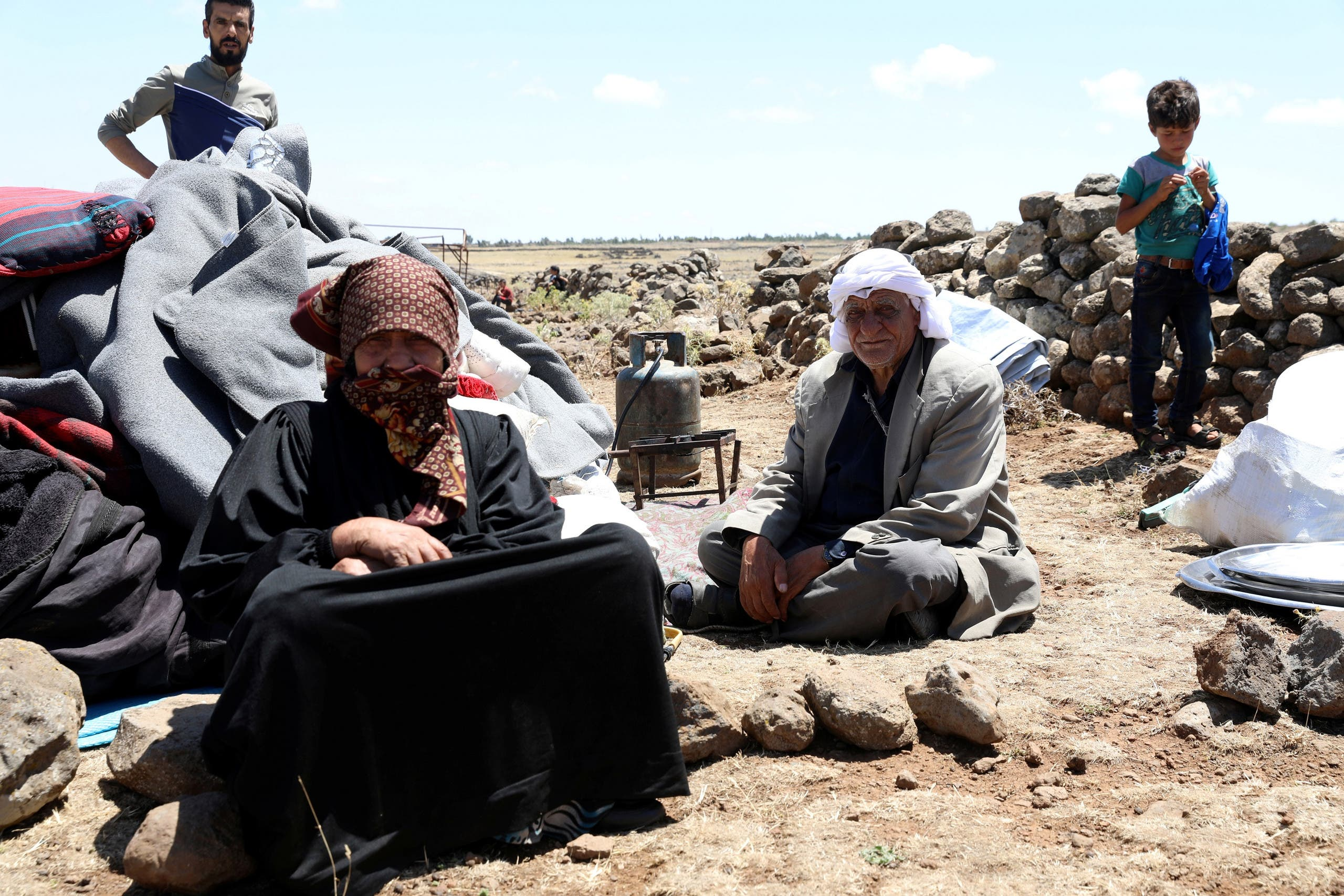 Syria Daraa. (Reuters)