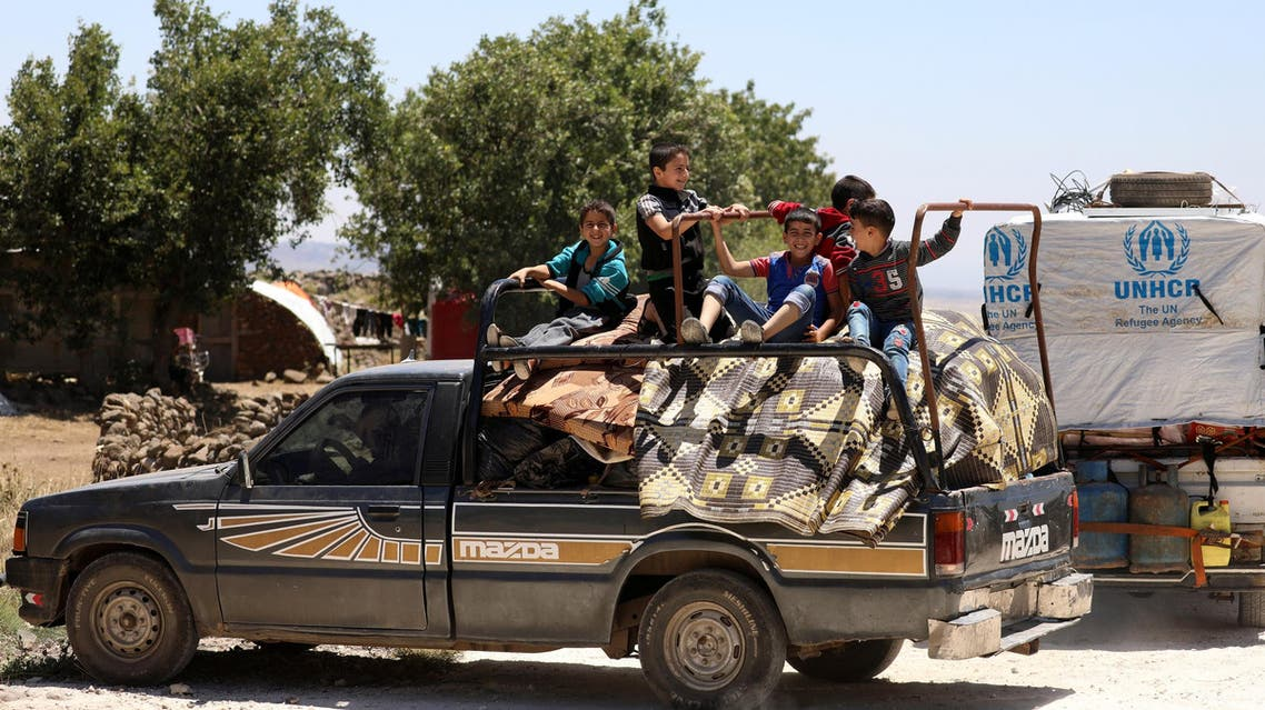 syria displaced (reuters)