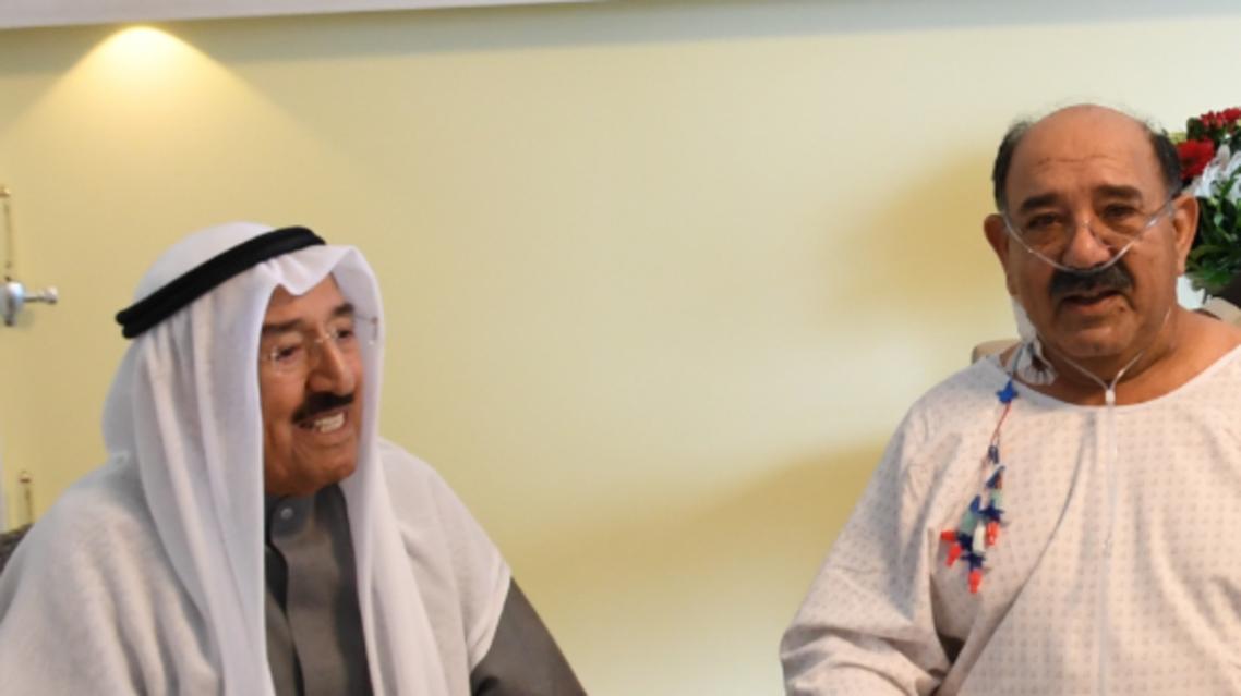 أمير الكويت ونجله