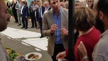 شہزادہ ولیم فلسطینی پکوڑوں سے لطف اندوز اور کچوریوں کے دیوانے