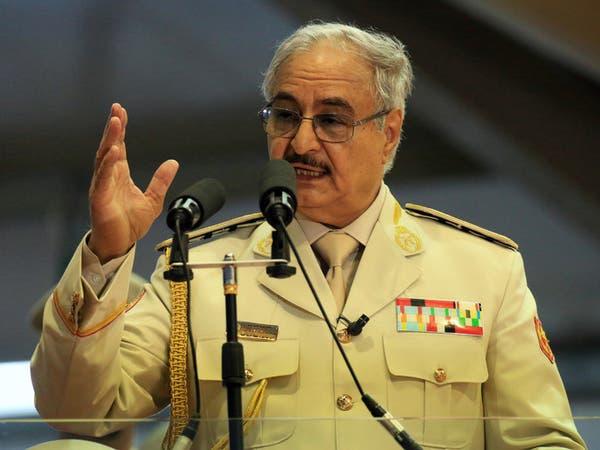 حفتر: أنقرة تؤجج الفوضى في ليبيا وتدعم الإرهابيين