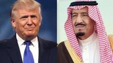 King Salman, President Trump discuss stability of global oil market