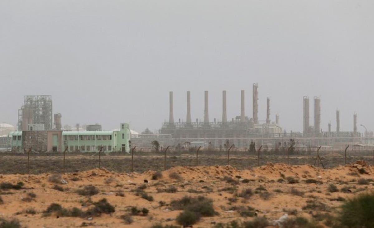 Ras Lanuf oil and gas company in the Ras Lanuf region of Libya