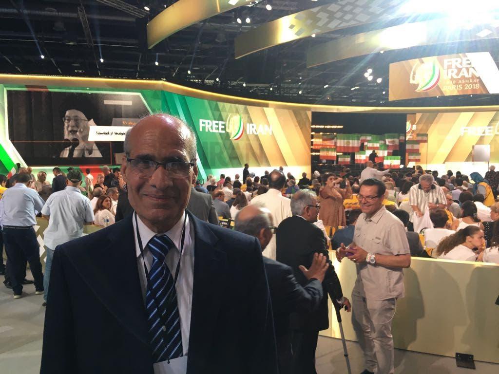 PROFESSOR ZAHEDI FREE IRAN