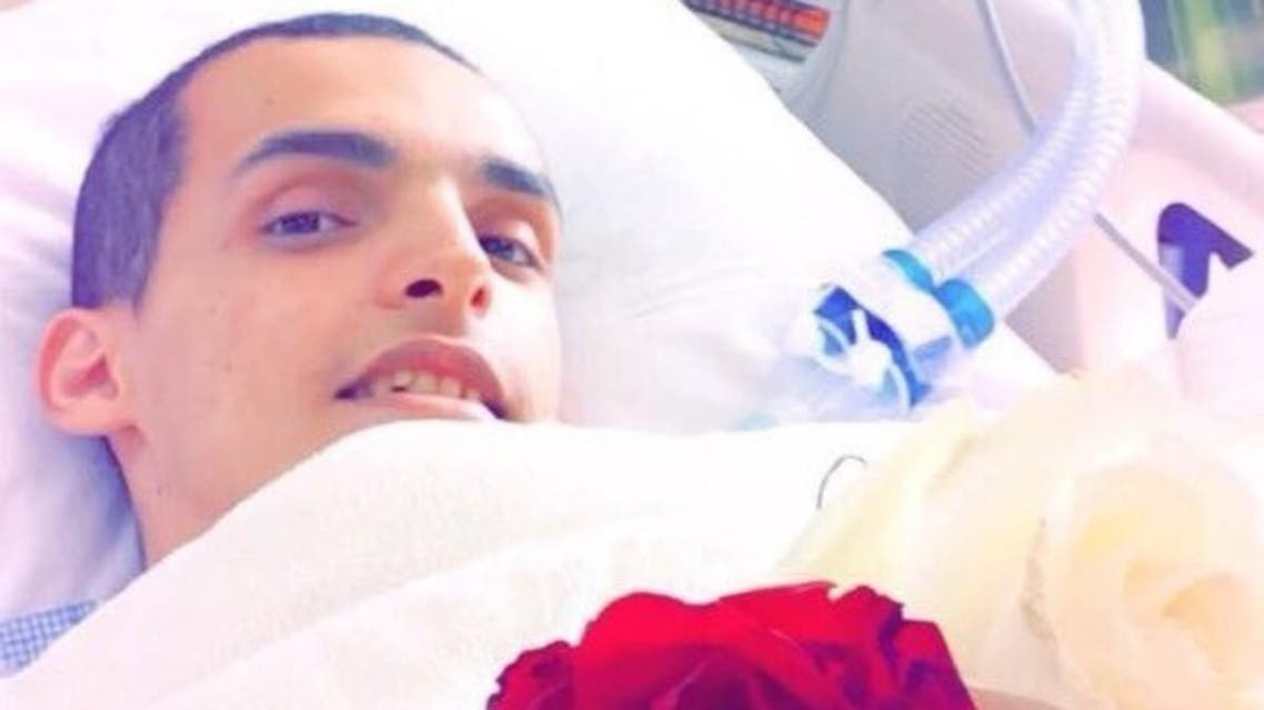 bed-ridden for seven years, Abdulrahman Maghawi, a young Saudi boy, earned his high school diploma.