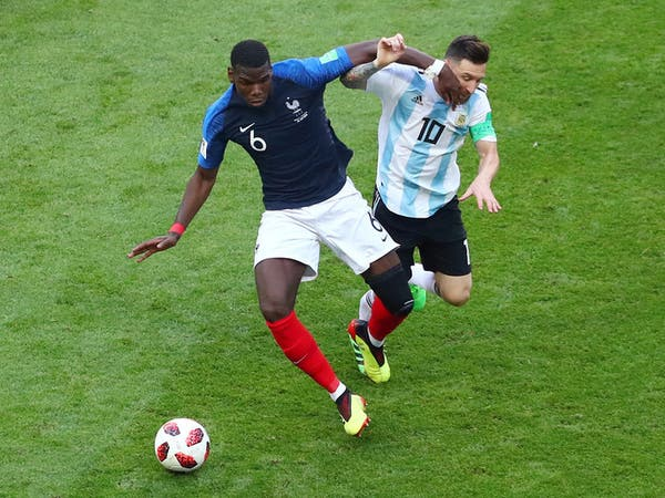 بوغبا: ميسي مثلي الأعلى.. وأفضل لاعب في العالم