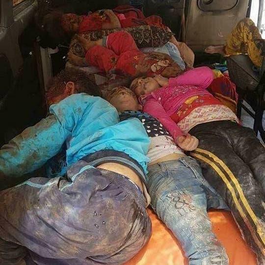 صور مروّعة.. جحيم الأسد يحرق أجساد أطفال درعا