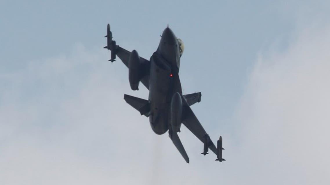 طائرة مقاتلة تركية من طراز أف-16