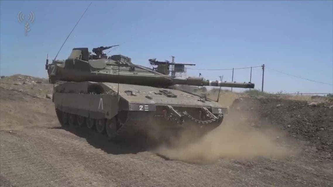 THUMBNAIL_ Israeli reinforcements Golan