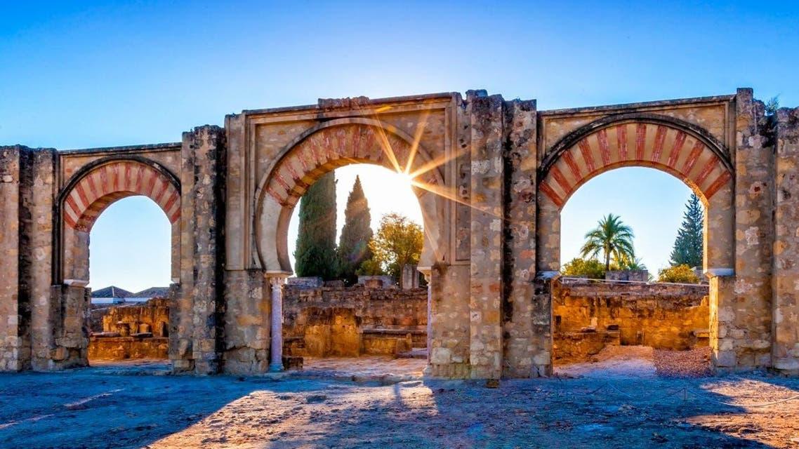 The ruins of Medina Azahara, a fortified Arab Muslim medieval palace-city near Cordoba, Spain. (Shutterstock)