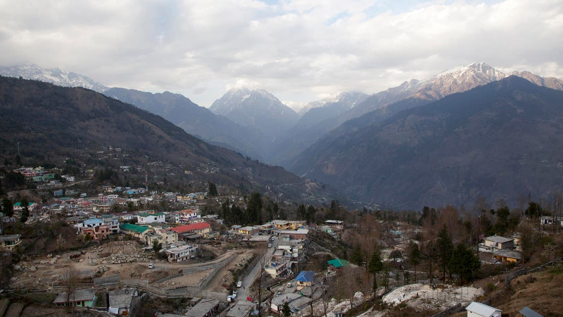This March 25, 2017 photo shows a view of Munsiyari, a small town in the mountainous state of Uttarakhand, India. (AP)