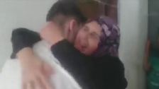 WATCH: Syrian student reunites with family after being detained for 5 years
