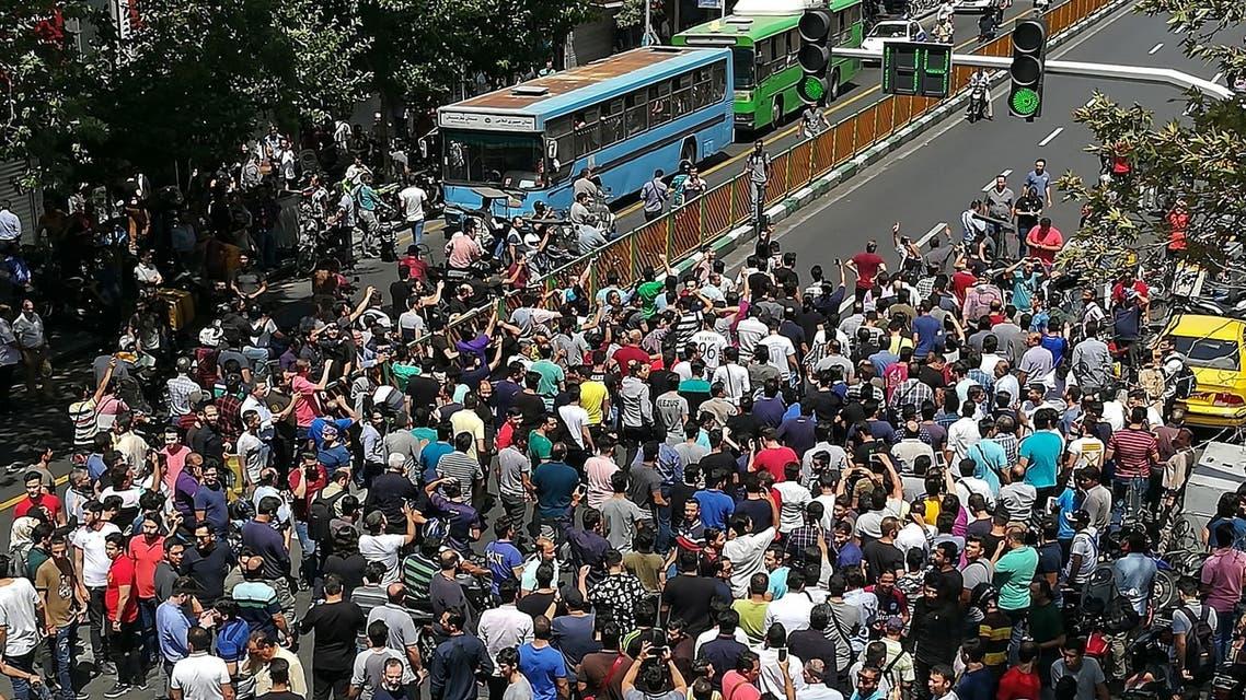 من احتجاجات إيران 25-6-2018