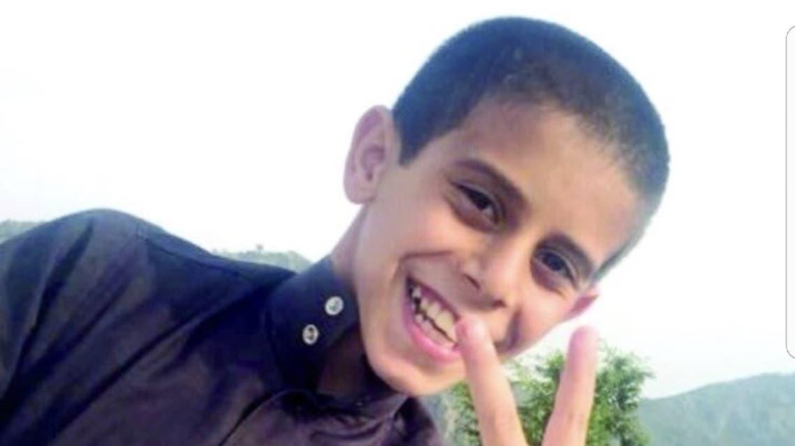 الطفل السعودي عبد الرحمن الأحمري الحوت الأزرق