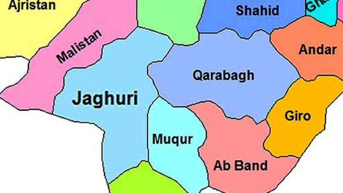 نیروهای خارجی برای امنیت ولسوالی جاغوری غزنی وارد عمل شدند
