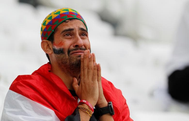 Emotions run high during the World Cup