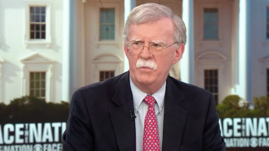 Bolton said that President Donald Trump hoped to secure Russia's help in evicting Iranian forces from the country. (Photo courtesy: CBS Face the Nation)
