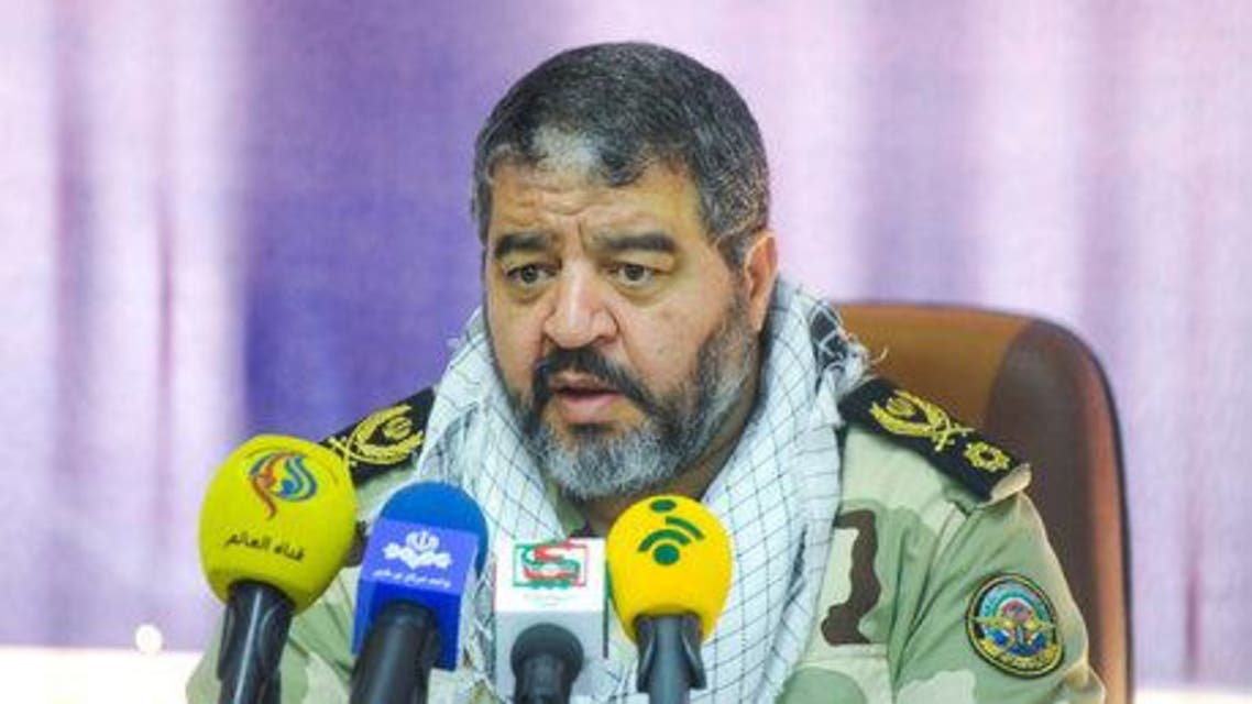 The Head of Iran's Civil Defense Organization Brigadier General Gholam Ridha Jalali