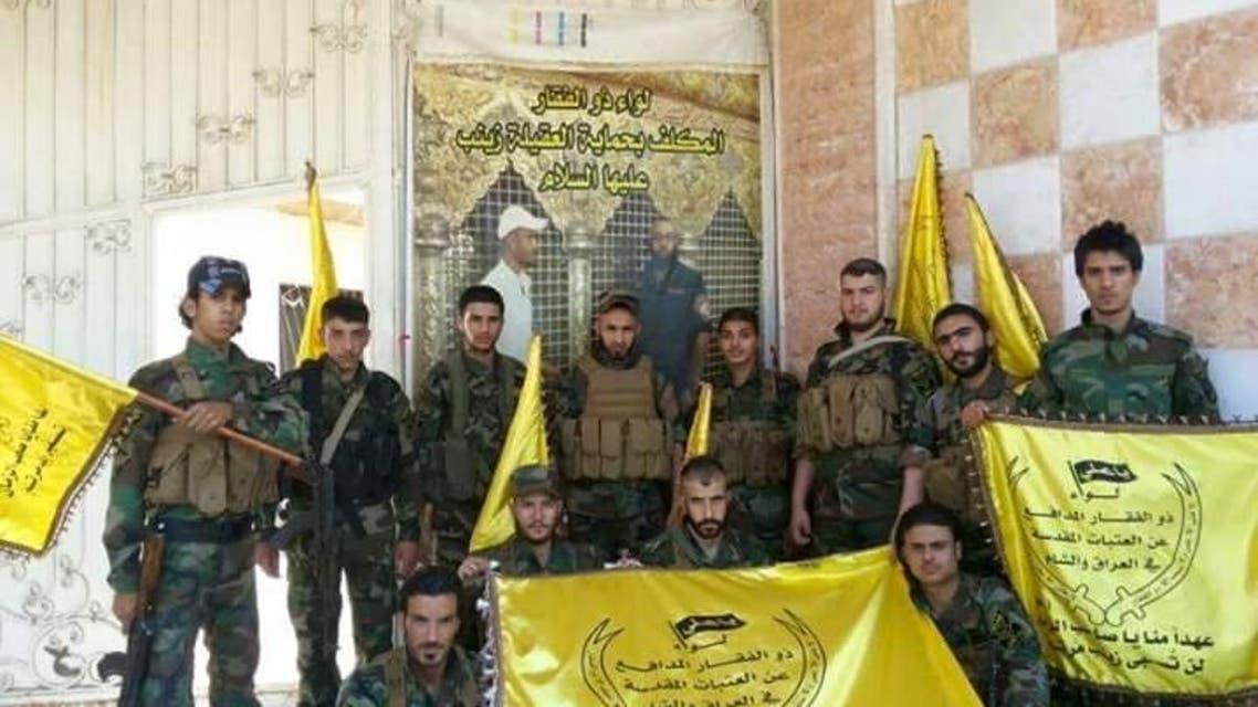الشعار الذي ترفعه جميع ميليشيات إيران في سوريا والمنطقة