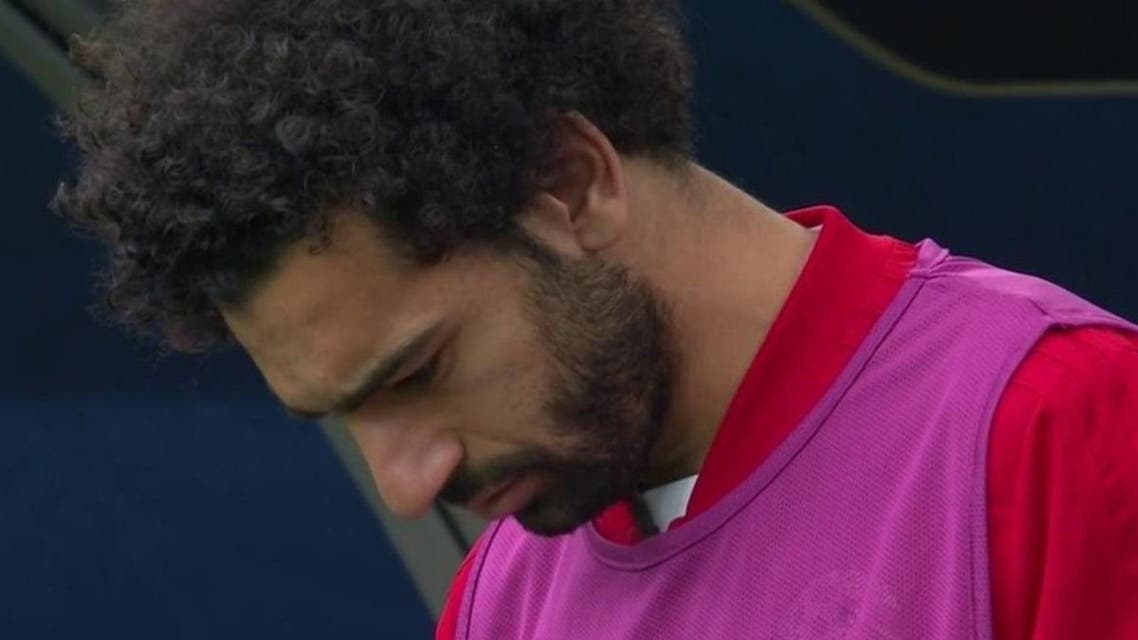 Observers believe that Salah's psychological mood deteriorated during the tournament. (Supplied)