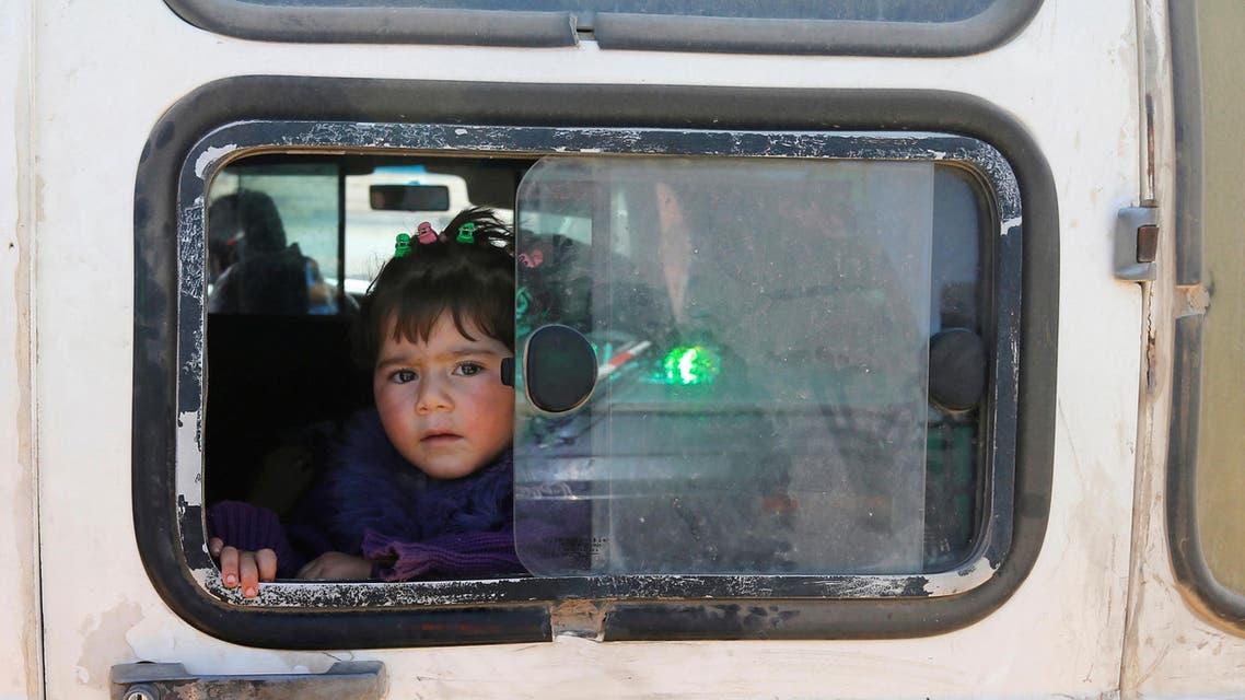 Syria displaced civilians. (Reuters)