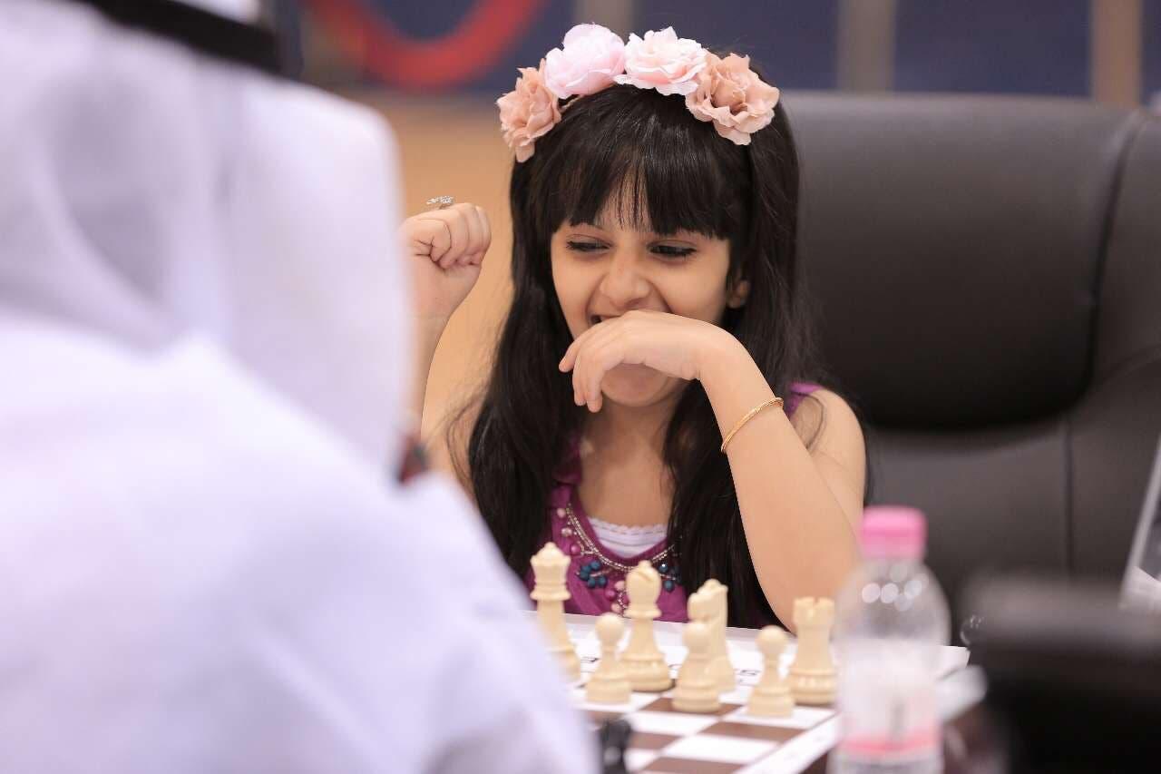 اصغر لاعبة شطرنج سعودية