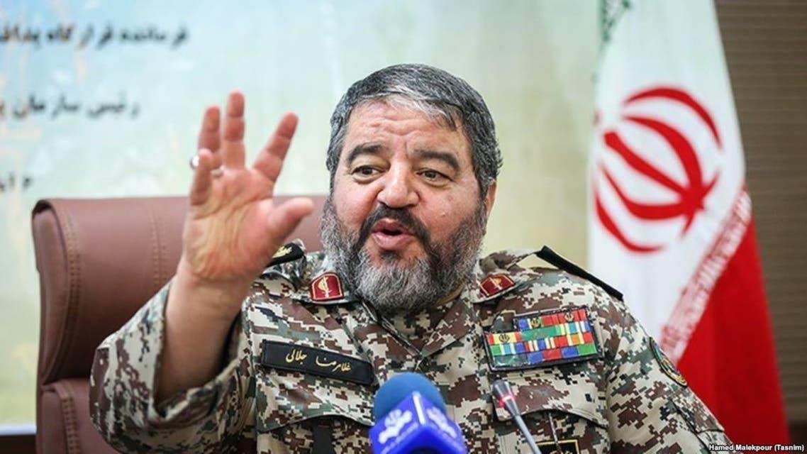 """رئيس """"منظمة الدفاع السلبي"""" الإيرانية غلام رضا جلالي"""